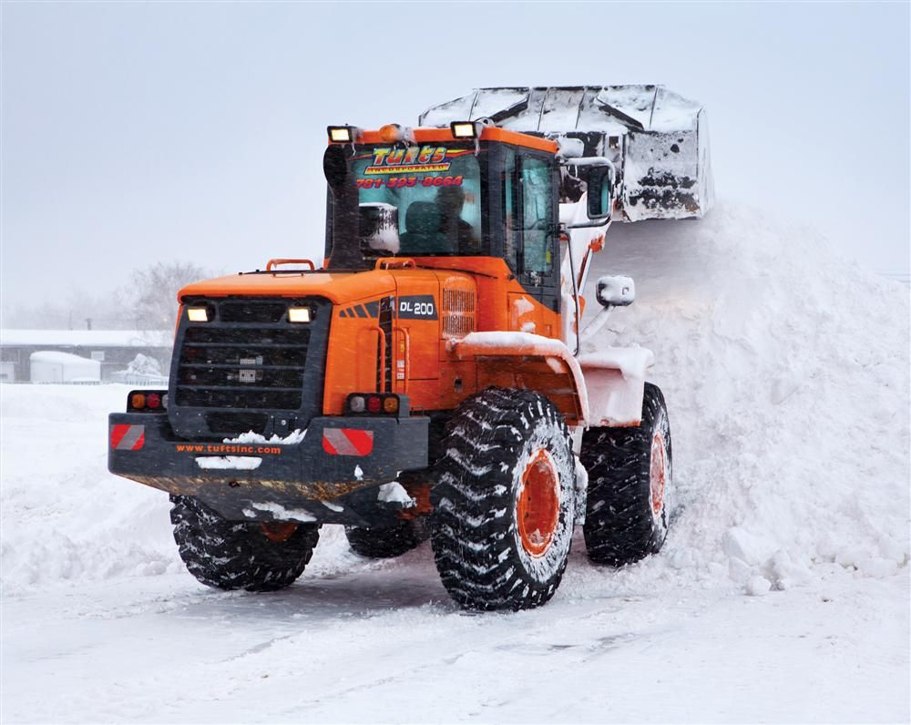 The DL200 was originally brought on board for snow removal.