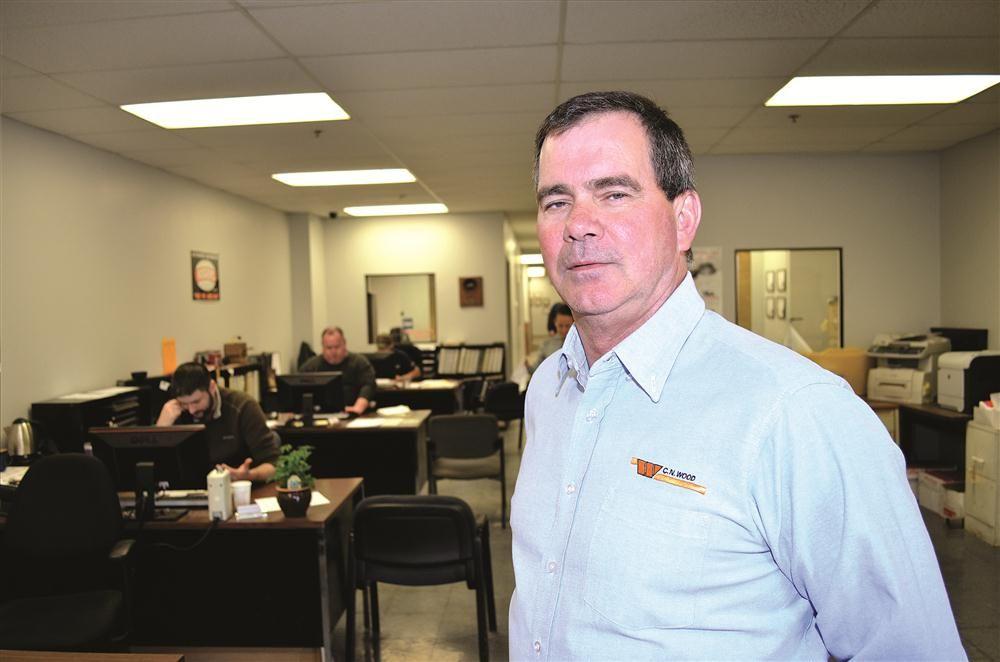 Jeff Sullivan, parts manager.