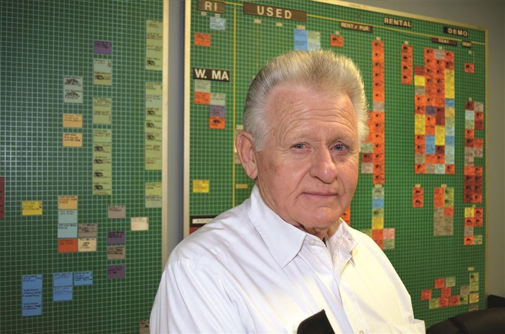 Buddy Barrelle, vice president.