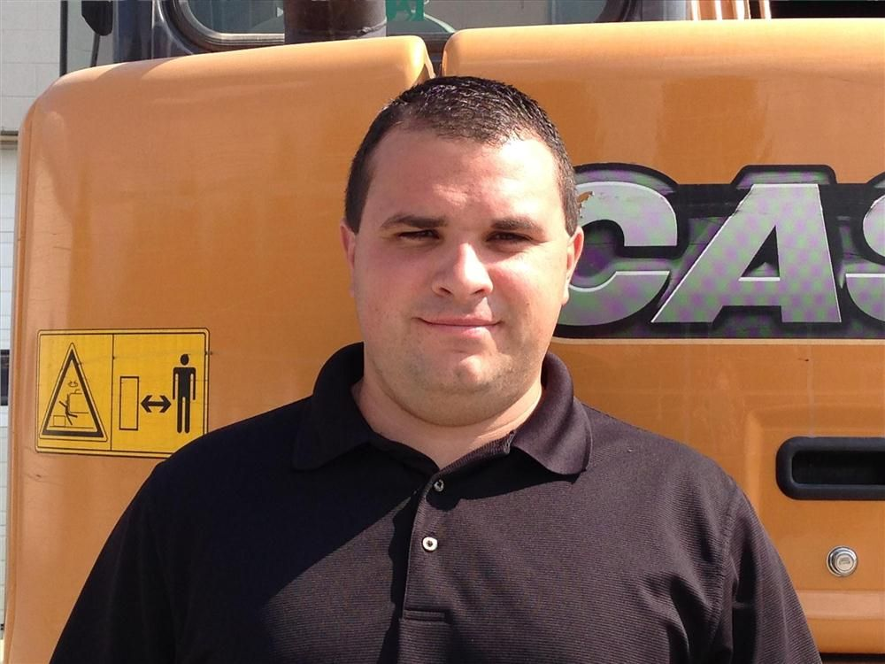 Nate Bowersox was brought on to take on the role of general construction sales representative.