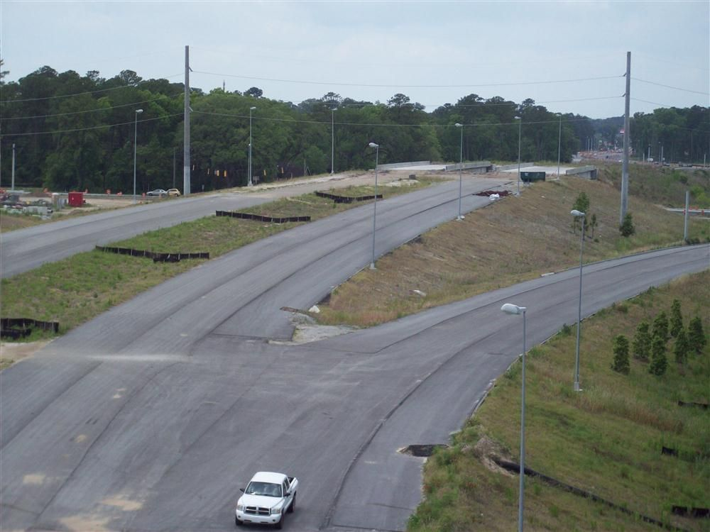 Residents of Savannah, Ga., can now see the finish line on the long trek that has been the building of the Truman Parkway.