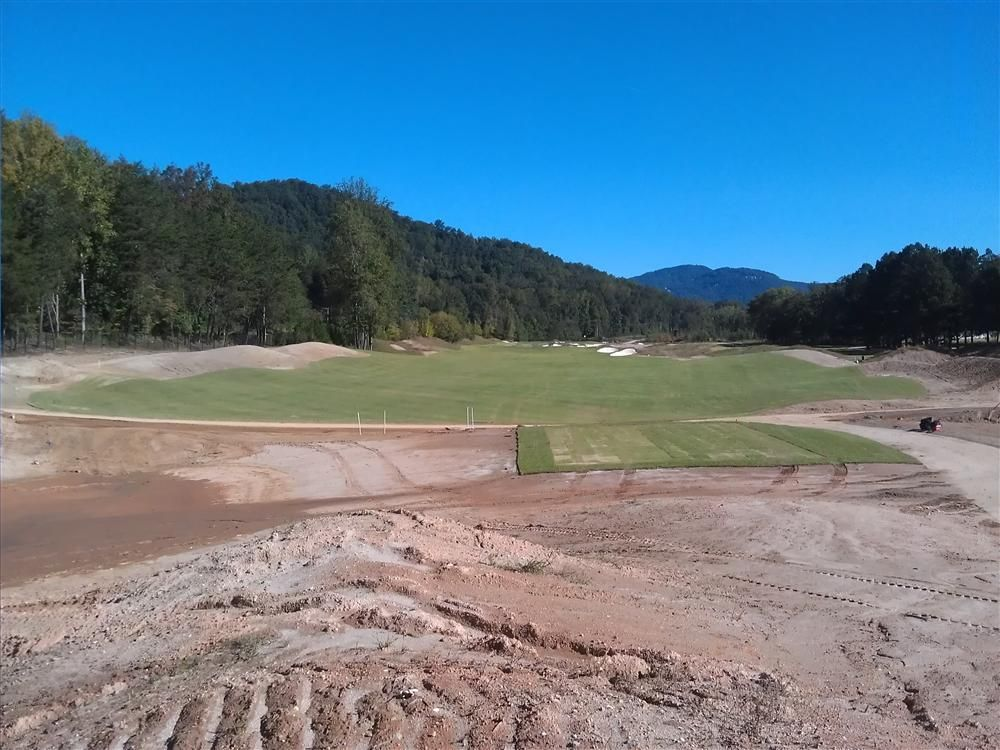 The Cliffs at Mountain Park Golf Course is in the final stages of grassing and is expected to open in the fall of 2013.