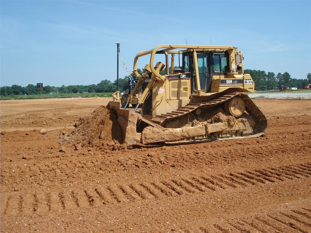 This Cat D6R LGP is equipped with the Topcon 3D-MC.