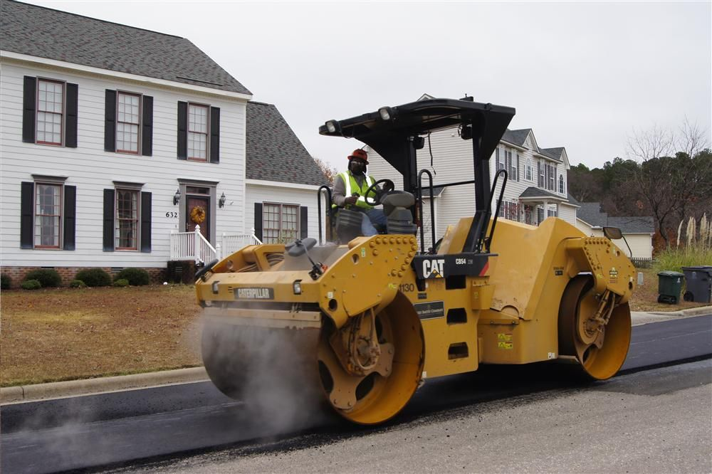 Gregory Poole paving customers in 54 counties in eastern North Carolina are served through those branches, each of which has a paving technician.