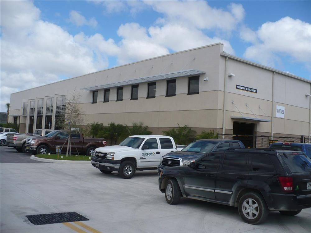 The new Nortrax Miami branch is located on the same property as its previous branch.