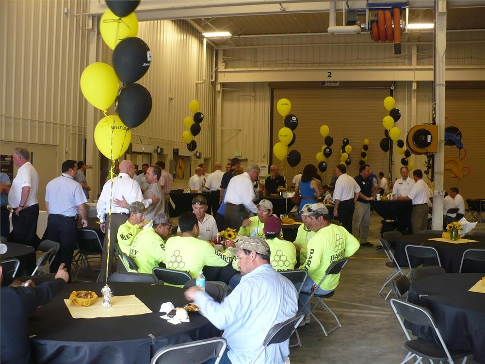 Guests were treated to lunch at the Nortrax Miami open house.