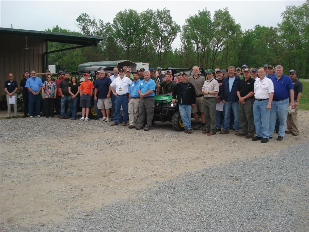 Contractors from Greensboro, Charlotte and Asheville came to enjoy the day.