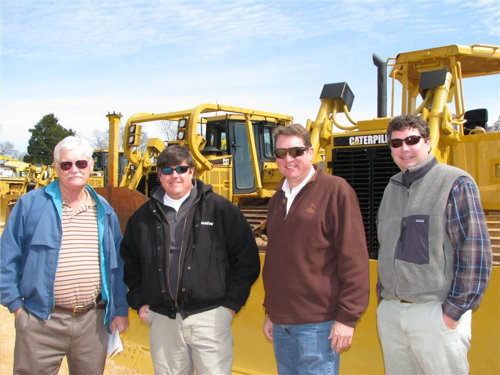 The Alabama boys were out in full force (L-R) including Joe Wallace and Doug Stone of Stone Equipment Co., Montgomery, Ala.; Bob Winnette of IronPlanet, Huntsville, Ala., and Ted McDonald of IronPlanet, Mobile, Ala.