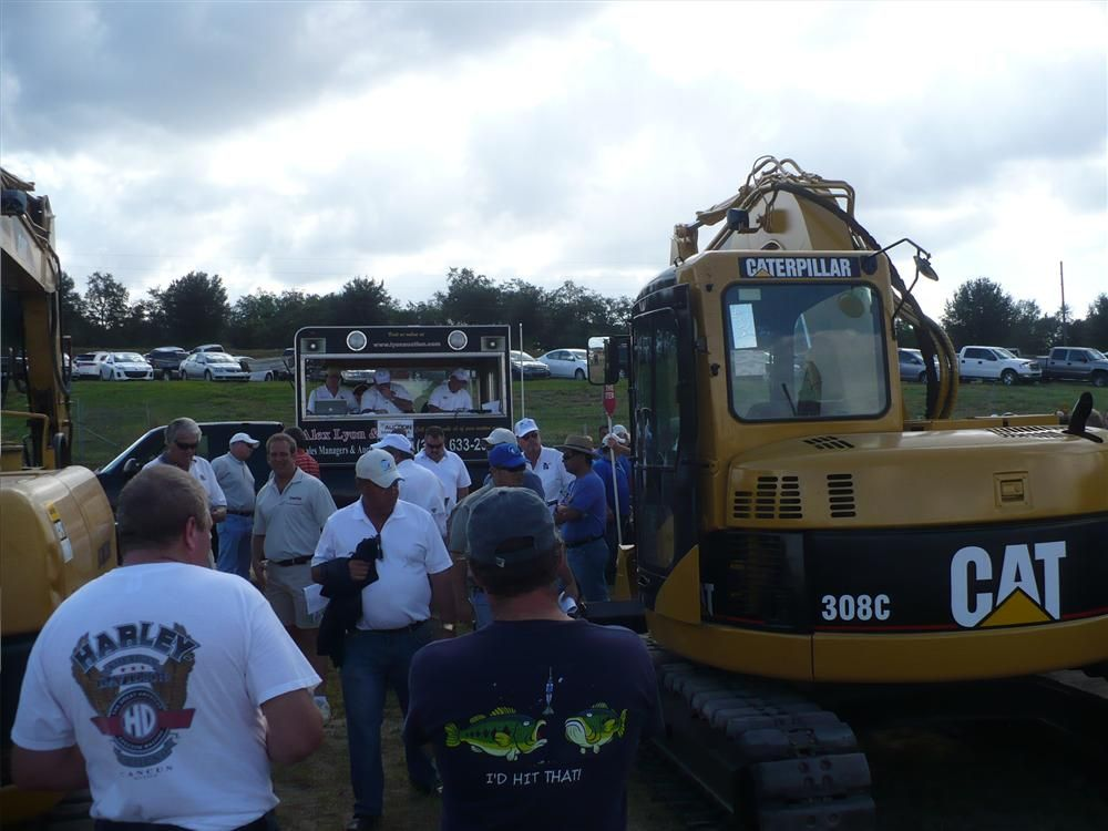 This 2006 Cat 308C sold for $42,000.