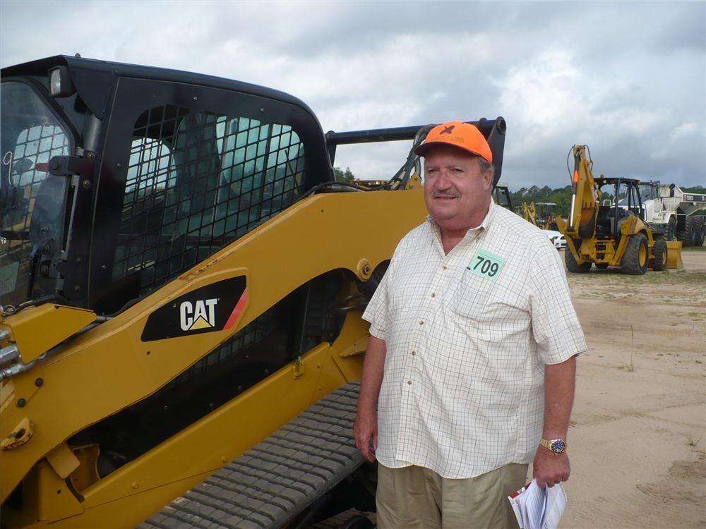 P. T. Grant of Grant & Cook Equipment in Macon, Ga., considers this Cat 297C.