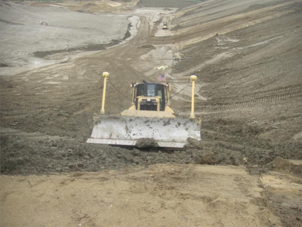 Trimble Systems helped Sargent Corporation trim 80 working days off its production schedule at the Gaston County Landfill.