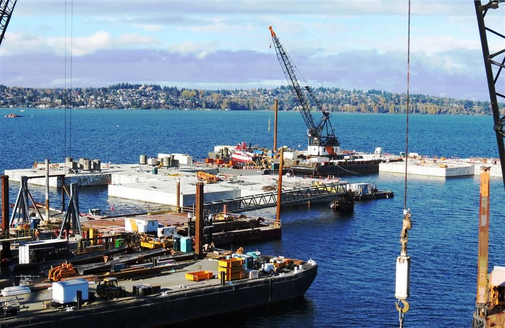 The ongoing construction of the $587 million SR 520 Evergreen Point Floating Bridge and Landings Project in Seattle, Wash. — the longest floating bridge in the world to date — is a complex and sophisticated project.
