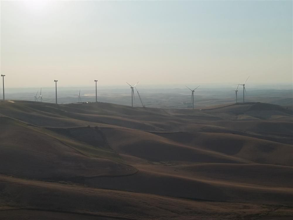 Construction of the Palouse wind project will mean expenditures of roughly $30 million in the local area.