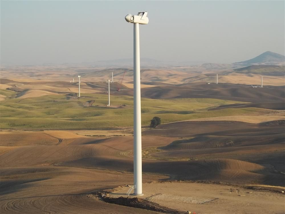 It's another first for Boston-based independent wind energy provider First Wind, given its wind farm project in Whitman County is its first in Washington State.