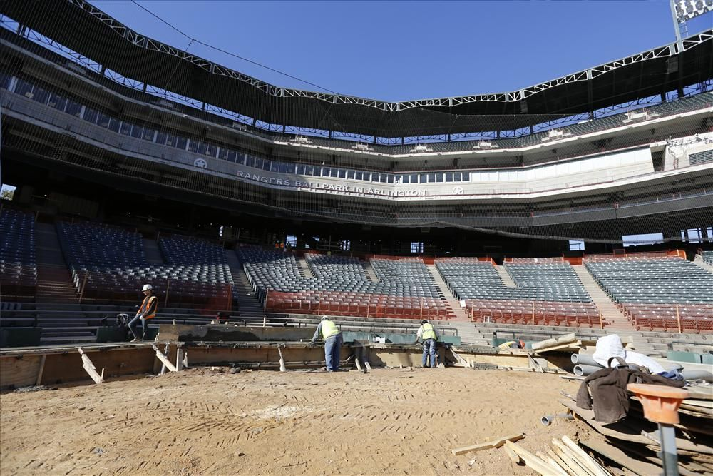 A third row of home plate seats will be added in front of the two existing rows of premium seating built for the 2009 season.