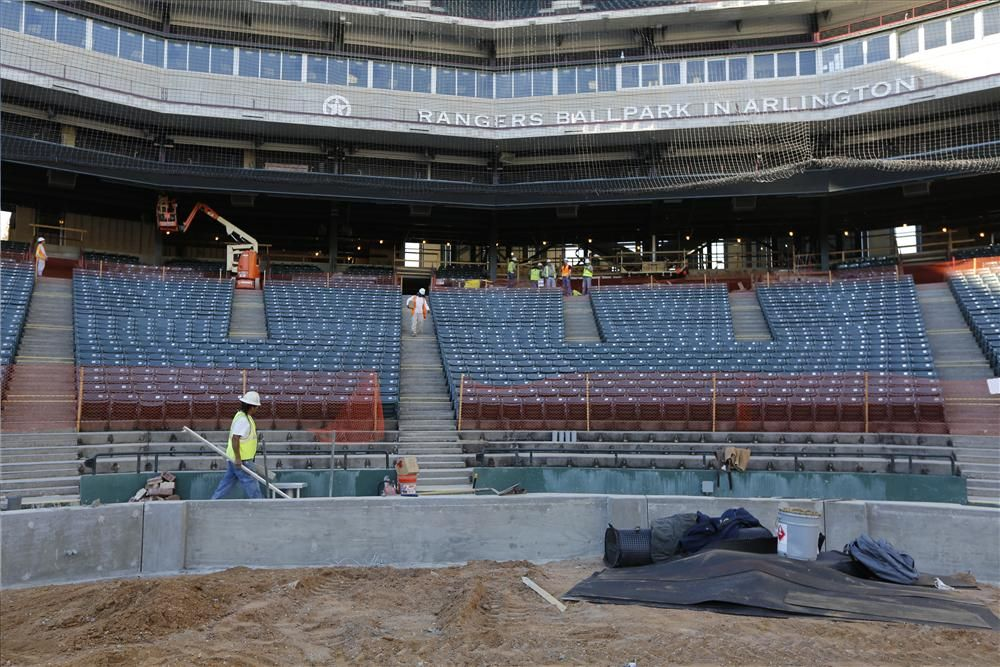 A third row of home plate seats will be added in front of the two existing rows of premium seating built for the 2009 season. The 52 new seats will bring the number of home plate seats to 148 between the two dugouts.