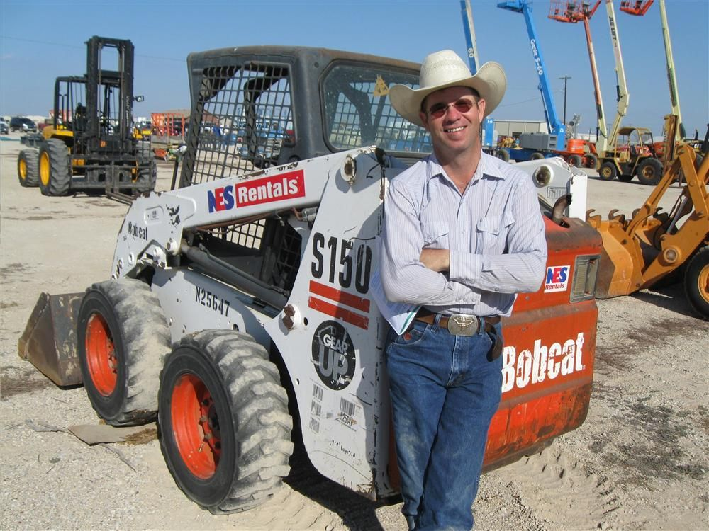 Bobby Miles, Texas Skid Steer in Springtown, Texas, likes the looks of this Bobcat S150.