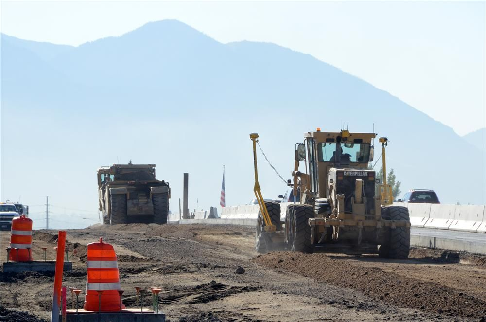This road is heavily used so UDOT determined that I-15 needed to be reconstructed and widened.