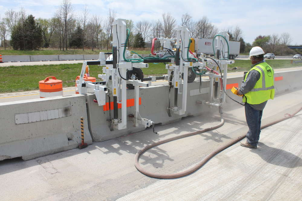Minnich manufacturing introduces concrete barrier wall