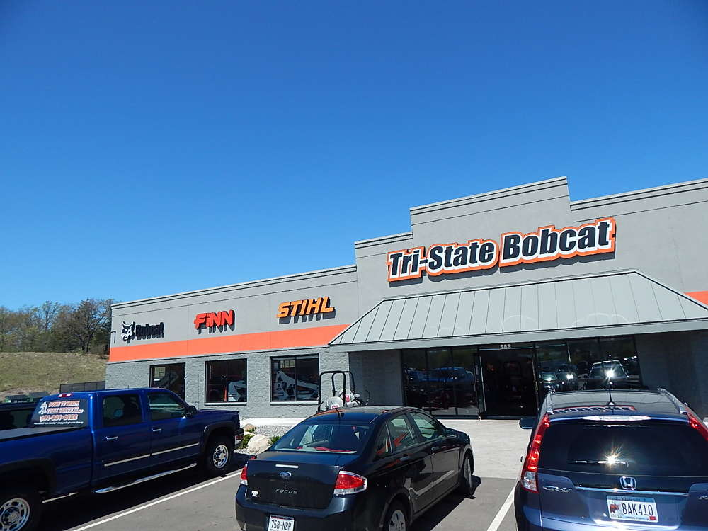 Tri-State Bobcat in Hudson, Wis., hosted a well-attended grand opening event on April 29 to 30 to celebrate its move to a much larger, completely remodeled facility.