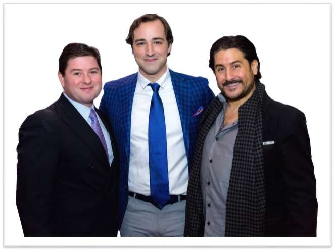 from left to right: CFO – Christopher Jones, CEO – Anthony Durante & President – John Durante