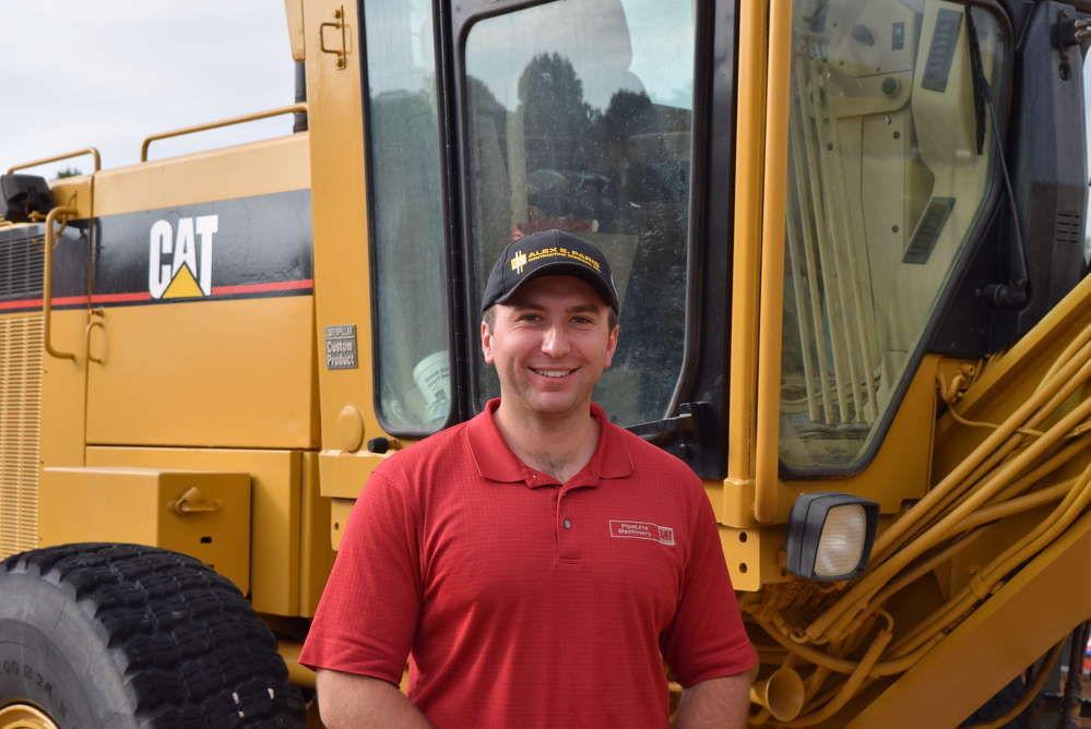 Andrew Miller, Alex E. Paris Contracting, located in Pennsylvania, shops Alex Lyon & Son's inventory.