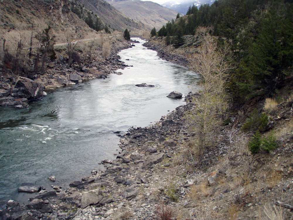 Officials say building a $57 million concrete dam and fish bypass channel along Montana's Yellowstone River offers the cheapest way to help an endangered species that dates to the time of dinosaurs.