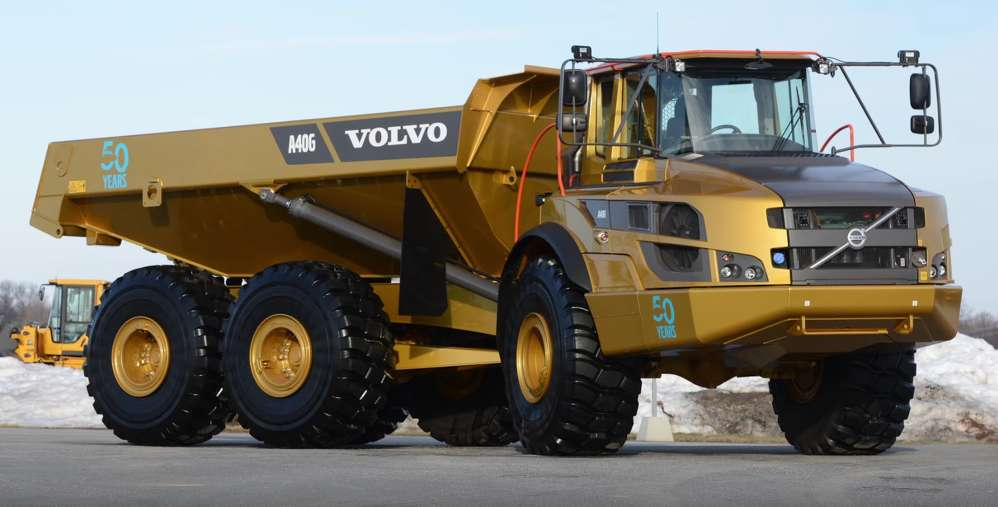 Volvo CE is celebrating the 50th anniversary of its invention of the articulated hauler by traveling throughout North America.