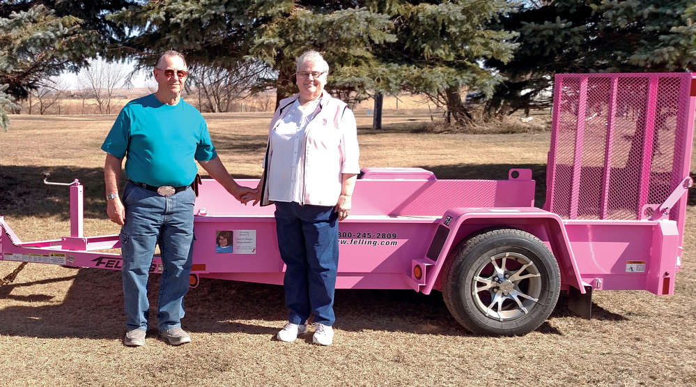 Gerald and Darlene Dinger.