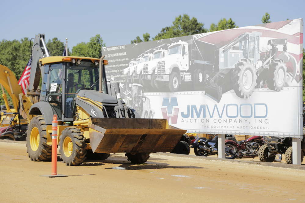 More than $31 million of construction equipment was sold on the auction ramp.