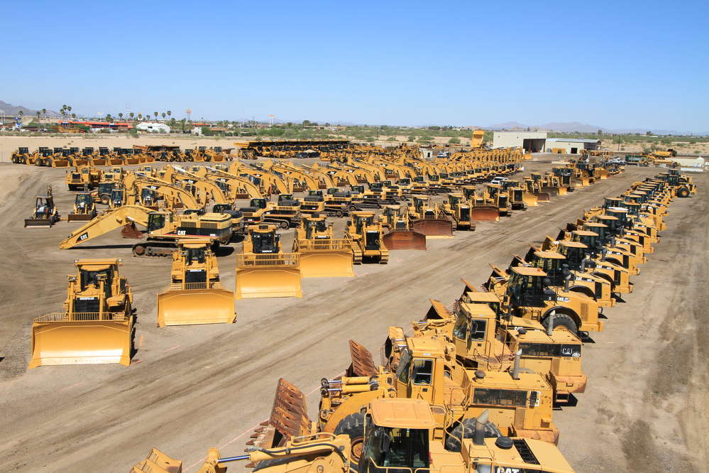 The Eloy Sales Center offers an extensive selection of used equipment for contractors and dealers in the Southwest region and across the globe.