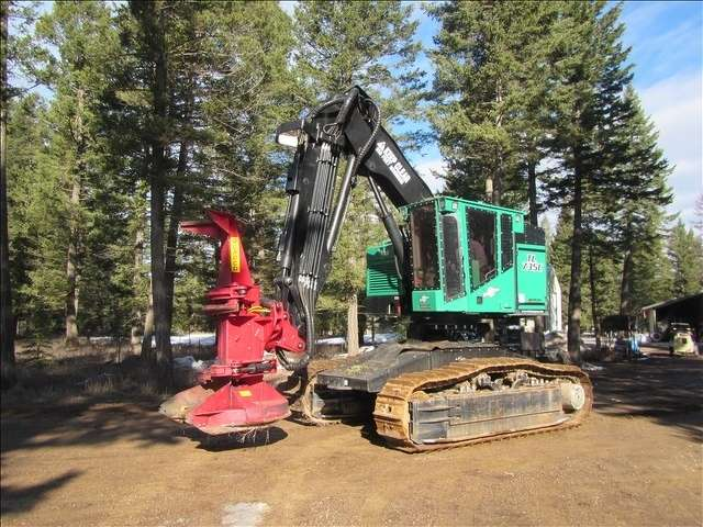 This 2015 Timber Pro TL735C feller buncher sold to the highest bidder for $350,000.