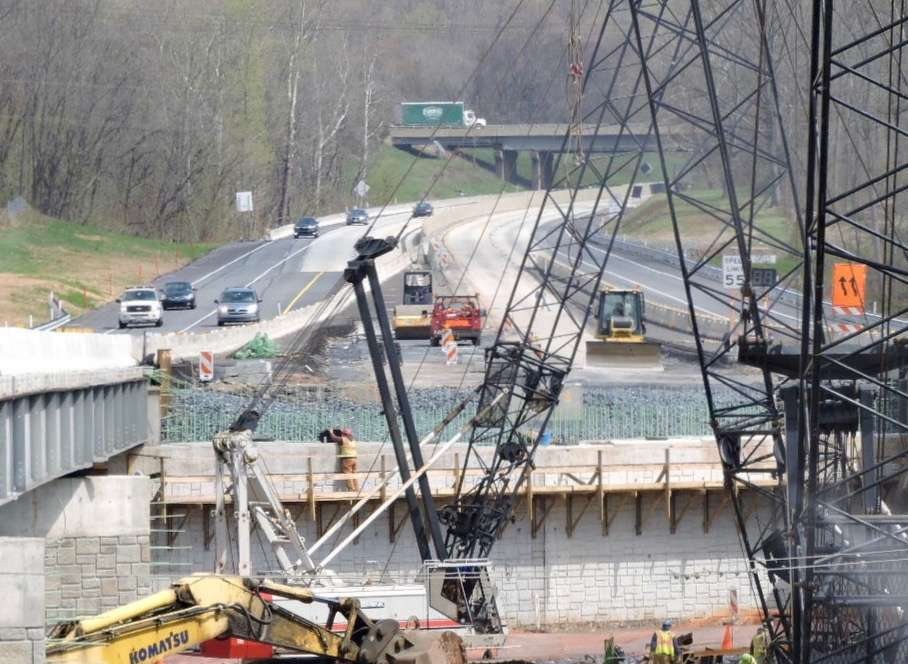 The entire Swatara Creek Bridge Replacement Project is expected to be complete in mid-to-late 2016.
