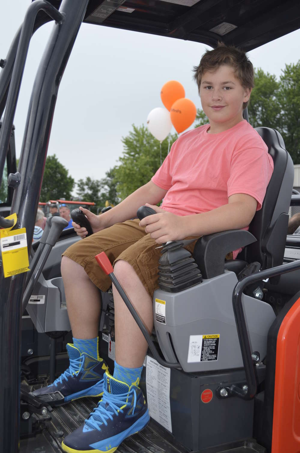 It may be a few years before he takes over as president of Levea Hogeboom Contracting in Mohawk, N.Y., but Raiden Levea has determined that the seat of this Kubota excavator fits him just fine.