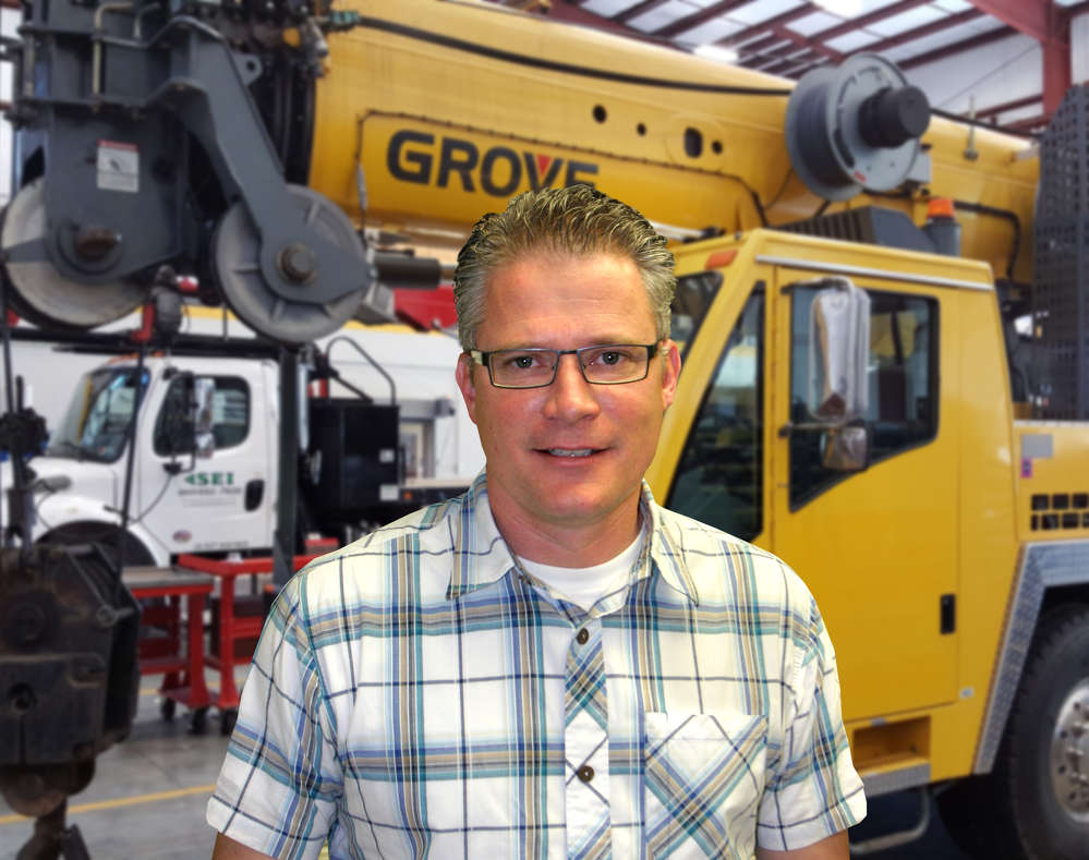 Ben Daugherty is Stephenson Equipment's newest crane specialist and territory sales representative.