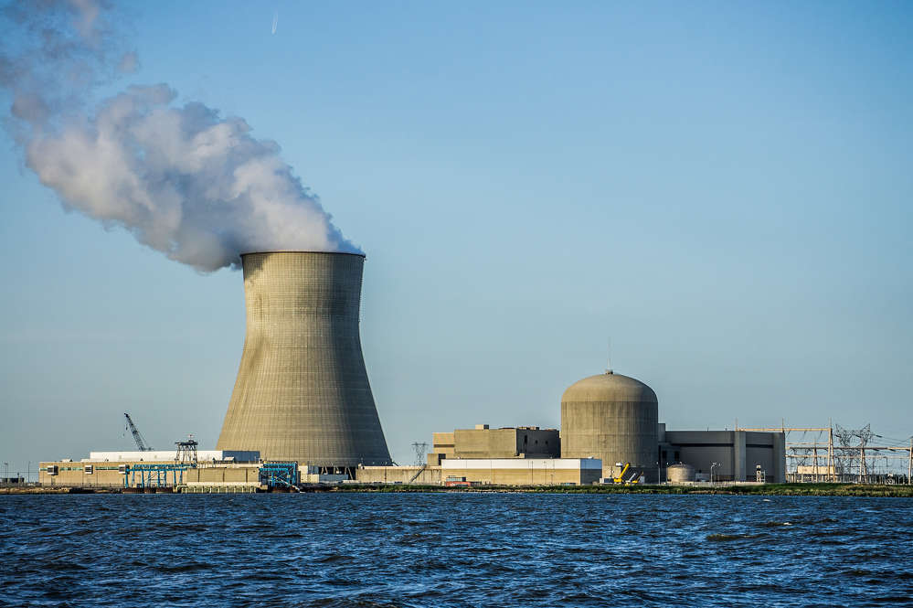 Image courtesy of Wikipedia.   Federal regulators have approved a permit that would allow possible construction of a new reactor near New Jersey's Salem and Hope Creek nuclear power plants.