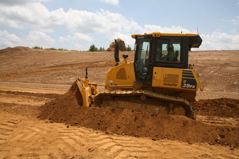 Komatsu America Corp.has introduced the new D39EX/PX-24 crawler dozer, a smooth, powerful, quiet machine for grading across a wide range of applications.