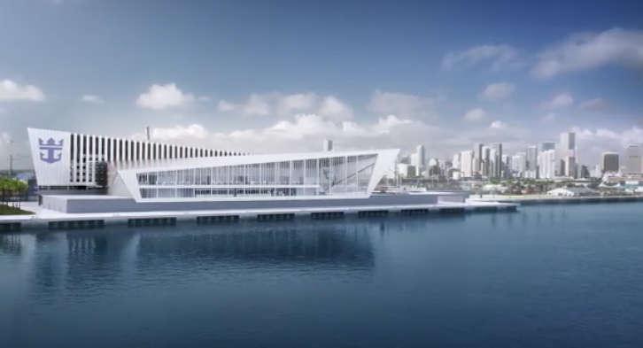 The Royal Caribbean terminal will create 4,000 jobs, $500 million in economic impact