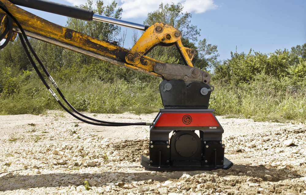 The RC 350 compactor is one of five new models.