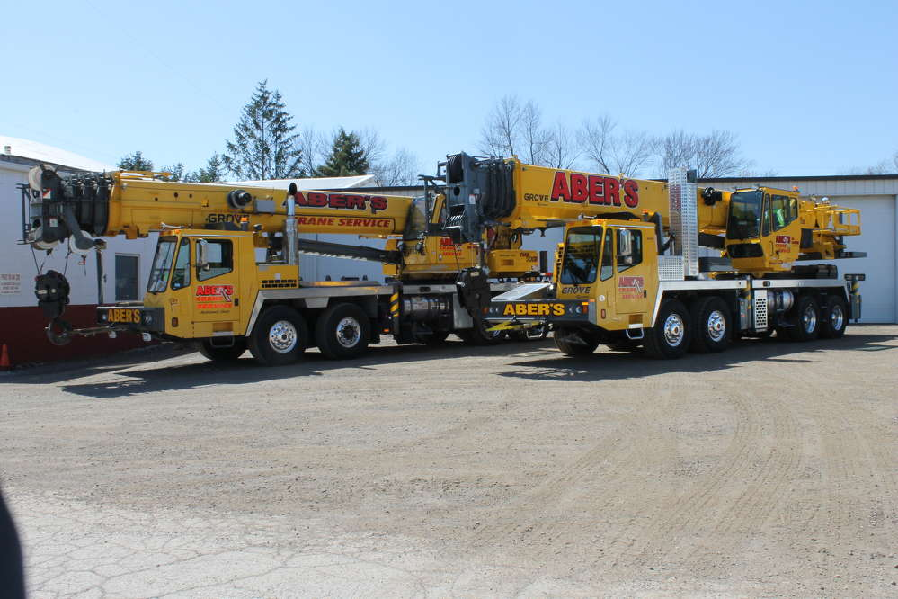 Aber's Towing & Crane Service adds to its fleet of Grove cranes.