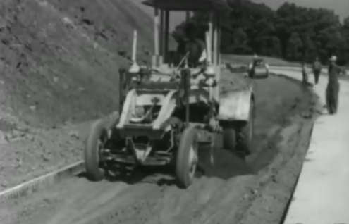 This rare footage of Pennsylvania from the 1940s takes us on a journey of the construction of the Pennsylvania Turnpike.