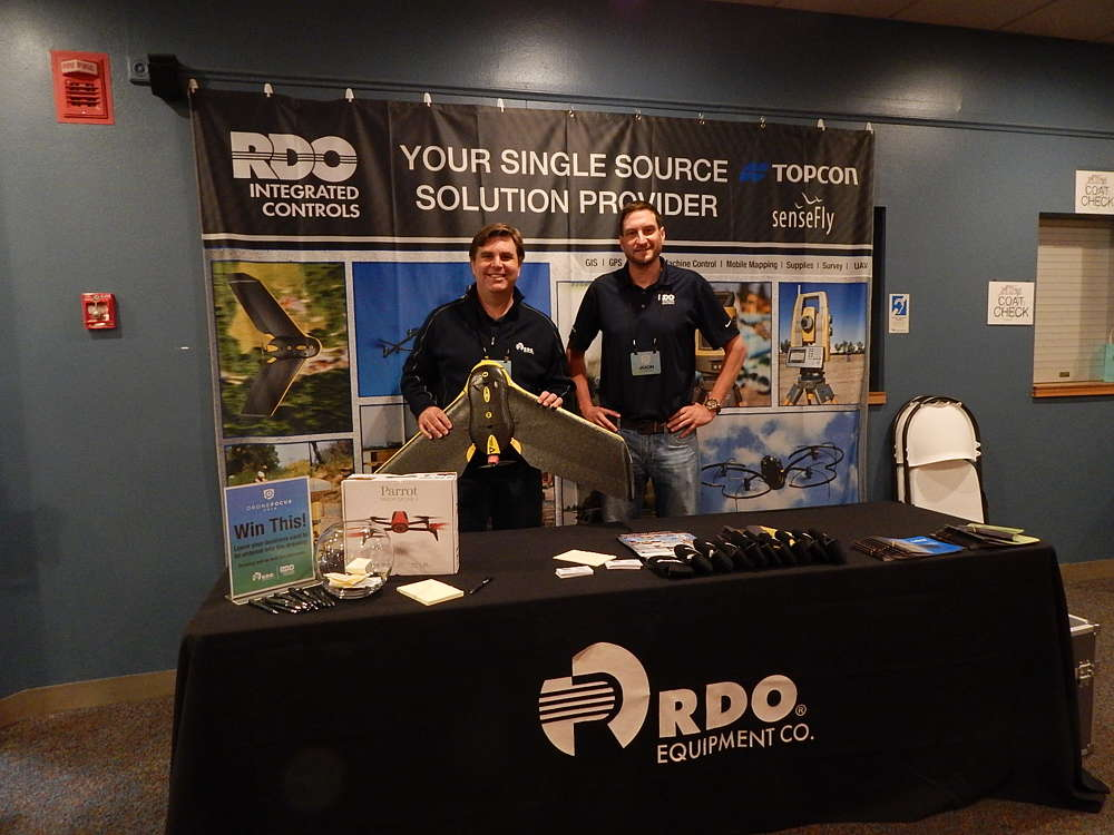 Ted Horan (L), director of marketing, and Jason Pearson, regional sales manager, both of RDO