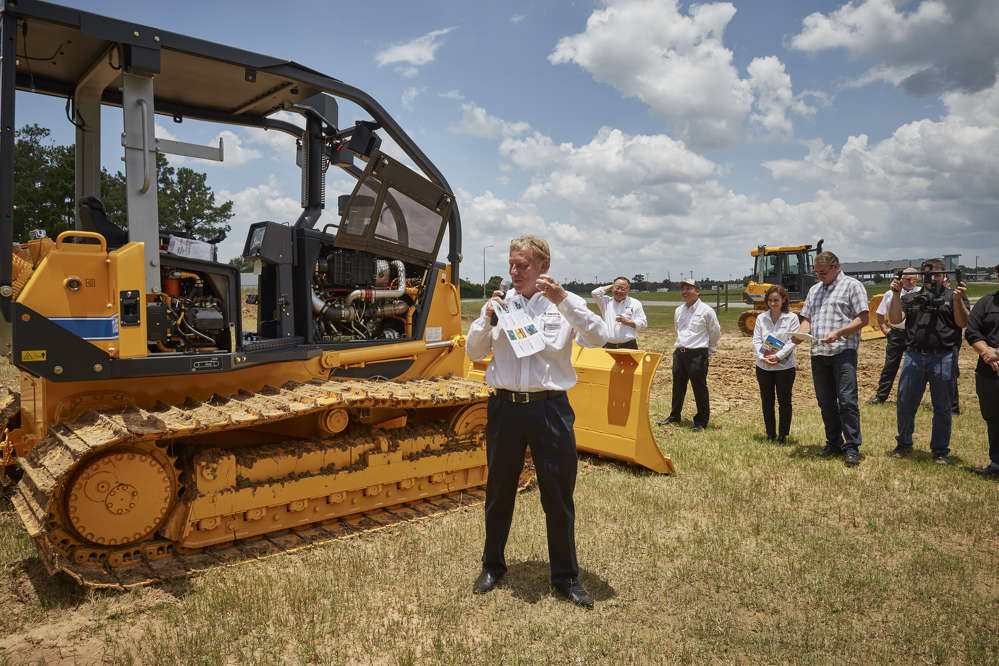 """The new S-Series dozers represent a real reinvigoration of the Dressta brand in North America,"" said Marcus Menough, director of sales and marketing for LiuGong N.A."