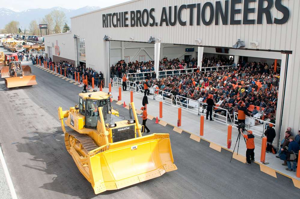 More than 2,150 items will be sold unreserved on July 13—everything from snow plows to cranes, and more.