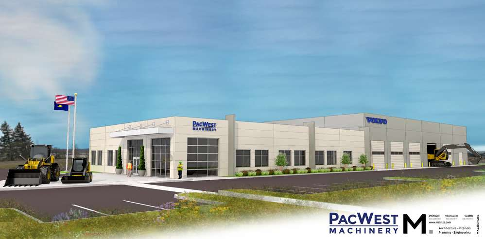 Beginning in the first quarter of 2017, PacWest Machinery customers in the greater Portland area will be supported and serviced from the new dealership at 19255 NE Sandy Blvd., Portland, Ore.