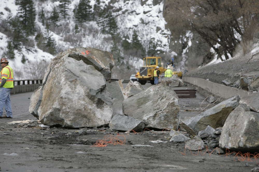 The Colorado Department of Transportation (CDOT) is currently performing permanent mitigation measures in the Glenwood Canyon where a large rockfall incident occurred in February.
