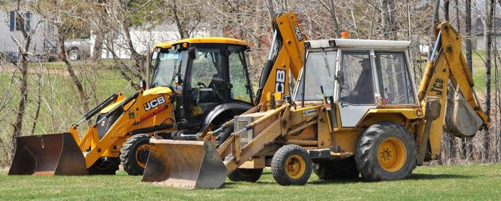 """When a JCB backhoe lasts more than 32 years, you replace it with another JCB,"" said Jim Leighton, superintendent of Limestone Water and Sewer District."