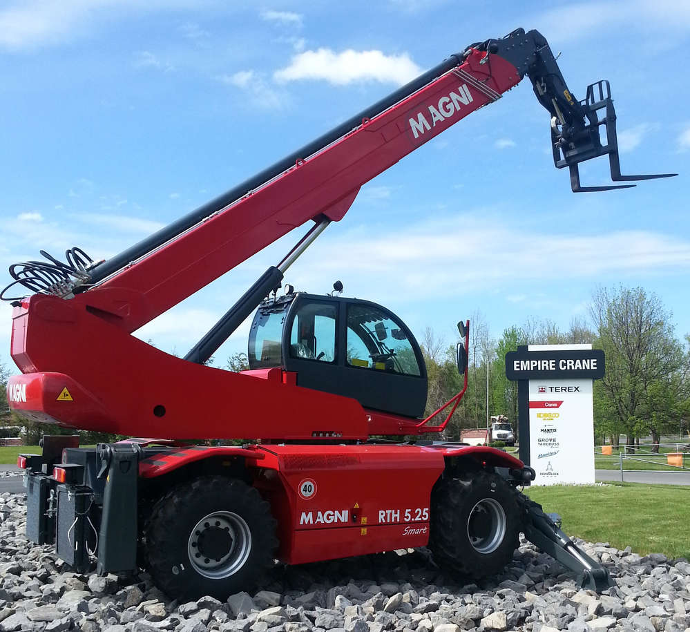Empire Crane Company has expanded its offering within the New York and northern New Jersey market as an authorized dealer of Magni telescopic handlers.