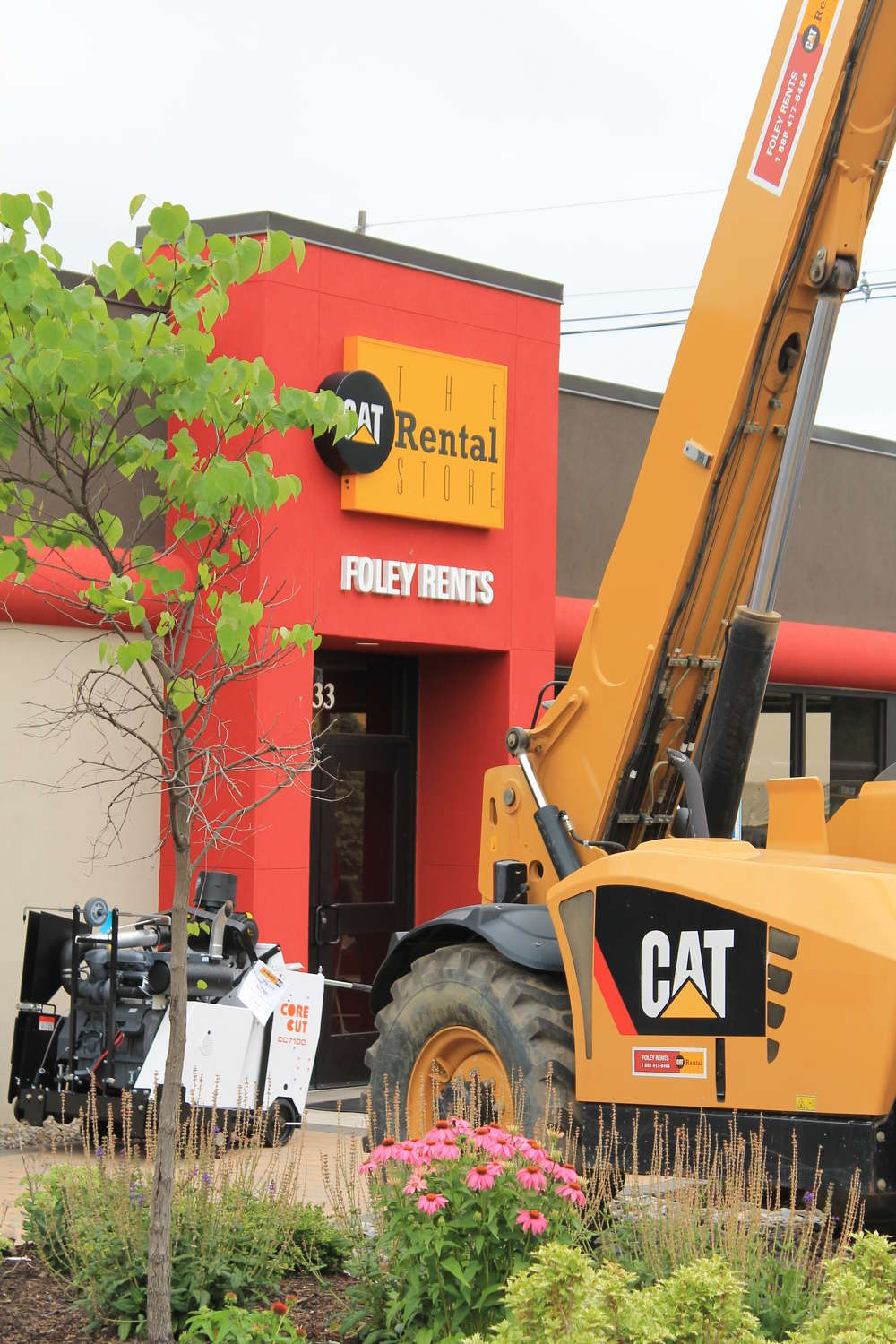 Foley Rents in Piscataway, N.J., was teh locale for Foley CAT's One Day Sale Event.