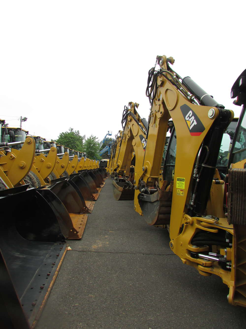 The Foley CAT One Day Sale featured a wide array of Caterpillar equipment offered at special pricing.